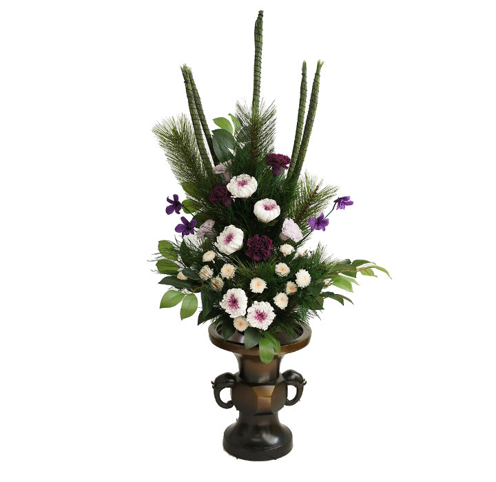 寺院用 大型 プリザーブドフラワー 仏花